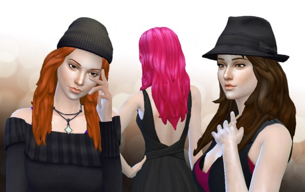Mystufforigin: Symphony hair for Sims 4