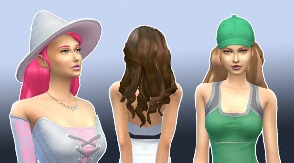 Mystufforigin: Illusion Hair for Sims 4