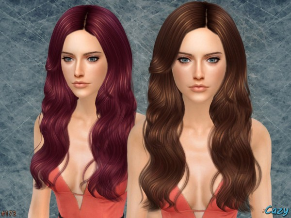 The Sims Resource: Raindrops   Hair by Cazy for Sims 4