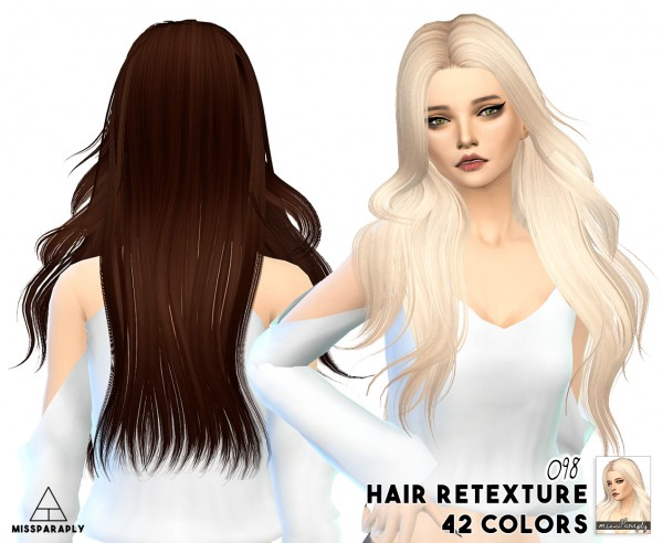 Miss Paraply: SkySims, Butterflysims hairstyles retextured for Sims 4