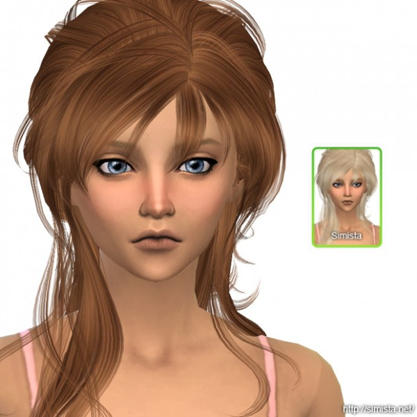Simista: May Sims 108F Hair Retexture for Sims 4