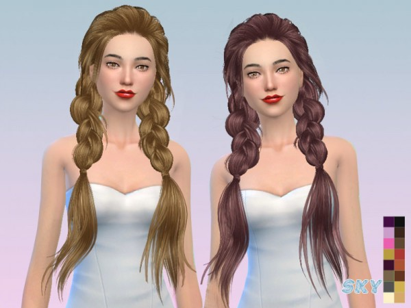 The Sims Resource: Paul 275 hair by Skysims for Sims 4