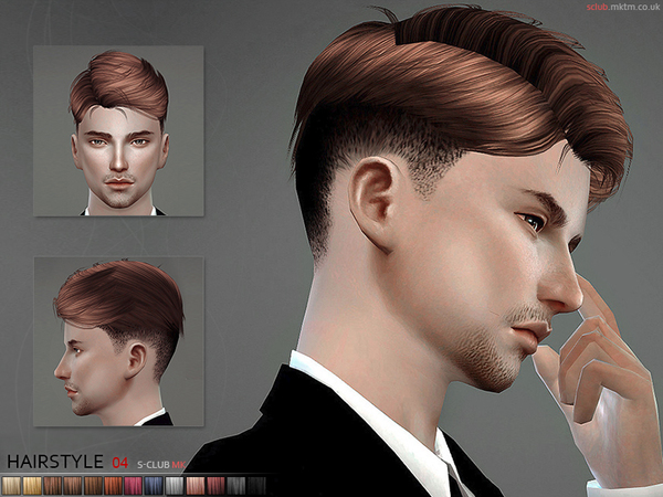 Sims 4 Hairs The Sims Resource Mk Hair N4 By S Club