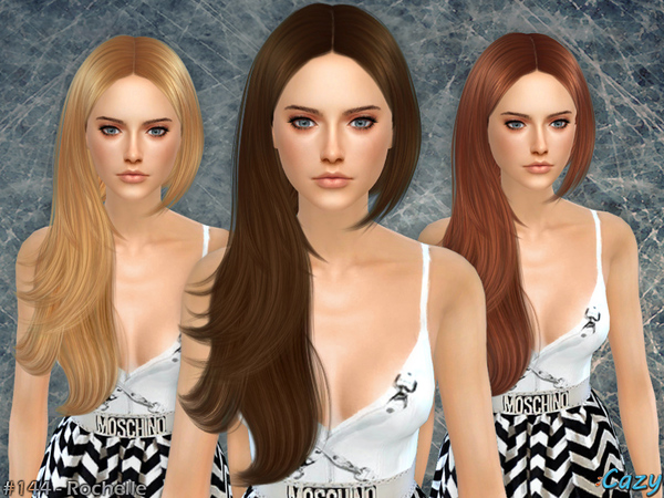 The Sims Resource: Rochelle hairstyle converted by Cazy for Sims 4