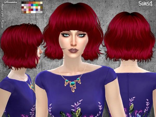 Sintiklia Sims: Hair 26 Kaori for Sims 4