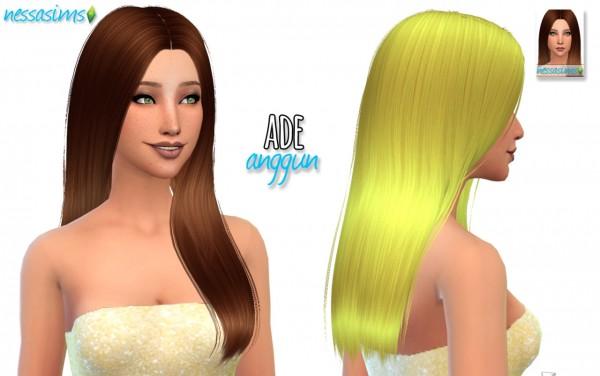 Nessa sims: Ade Anggun by Ade Darma for Sims 4