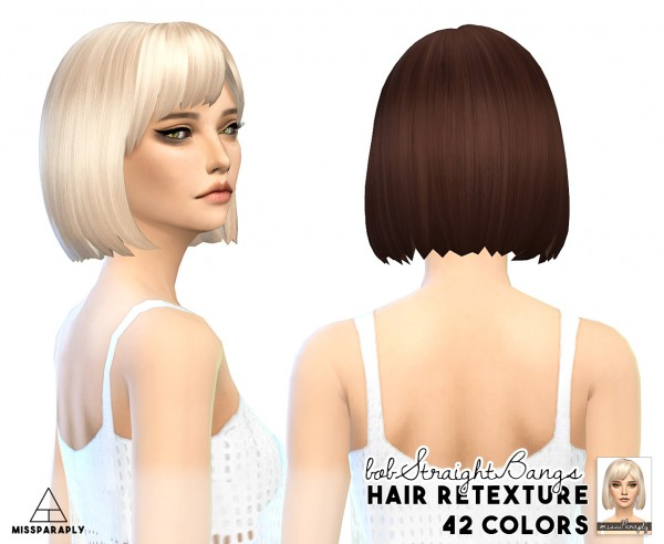 Miss Paraply: Mixed bag of clay hairs for Sims 4