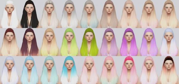 Kalewa a: Breakfree hair retextured for Sims 4