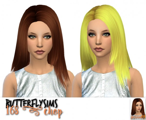 Nessa sims: Butterfly`s 168 chop, Cazy`s Marion and over the light chop for Sims 4