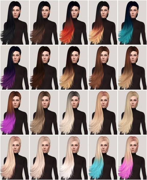 Salem2342: Skysims Hair 259 Retexture for Sims 4
