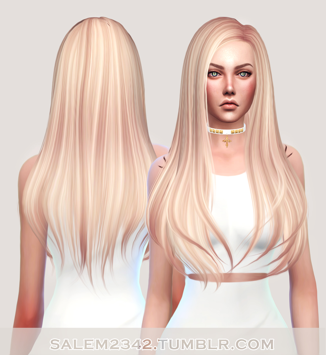 Sims 4 Hairstyles: Salem2342: Butterfly`s 145 Hair Retextured