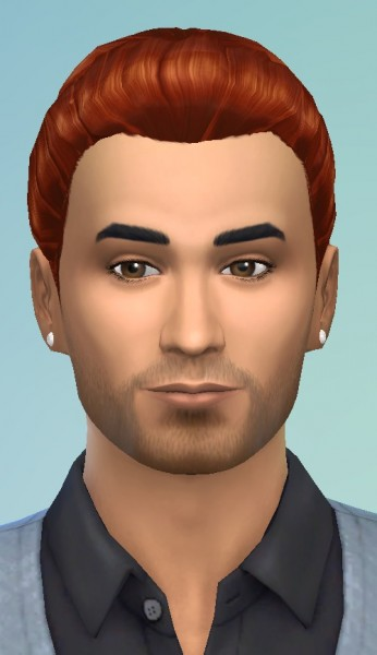 Birksches sims blog: David hair for Sims 4