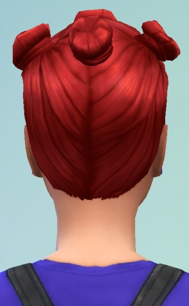 Birksches sims blog: Farina Hair for Sims 4