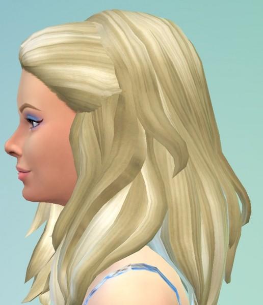 Birksches sims blog: Deneuve Hairstyle for Sims 4