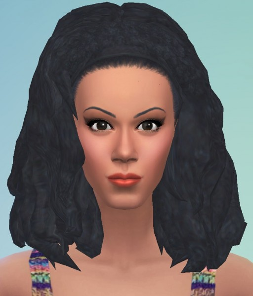 Birksches sims blog: Long Afro Hair for Sims 4