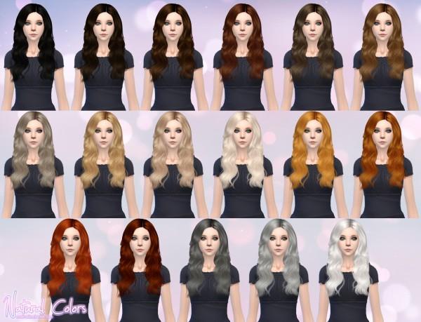Aveira Sims 4: Cazy`s Raindrops chopped hair retextured for Sims 4