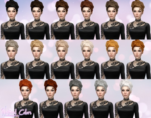 Aveira Sims 4: Stealthic Lovesick hair retextured for Sims 4