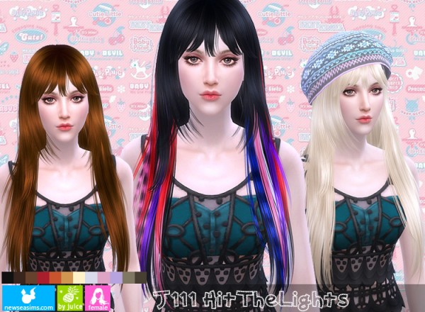 NewSea: J111 Hit The Lights for Sims 4