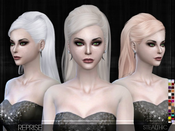 Stealthic: Reprise hair for Sims 4