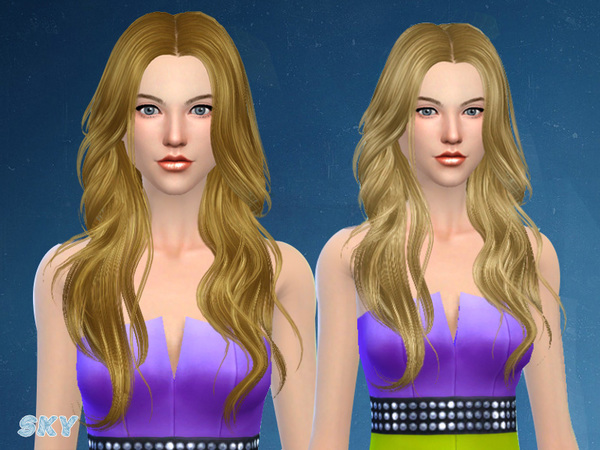The Sims Resource: Hair 278 by Skysims for Sims 4
