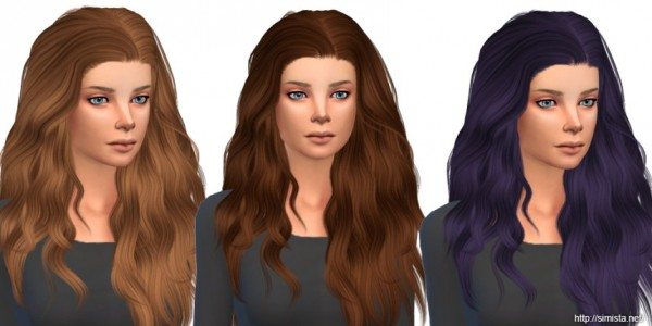 Simista: Stealthic Temptress Hair Retexture for Sims 4