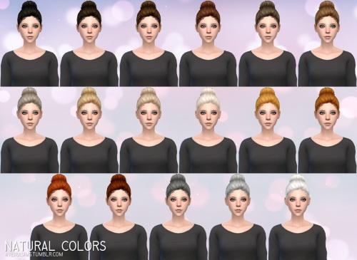 Aveira Sims 4: Nightcrawler`s Trixie hair retextured for Sims 4