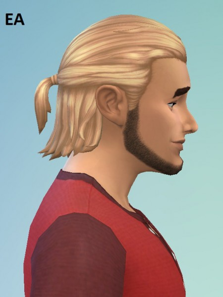 Birksches sims blog: Long Tied longer for him for Sims 4