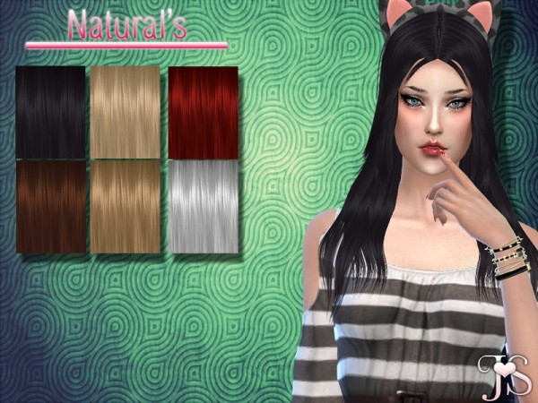 The Sims Resource: Complication Hair by JavaSims for Sims 4