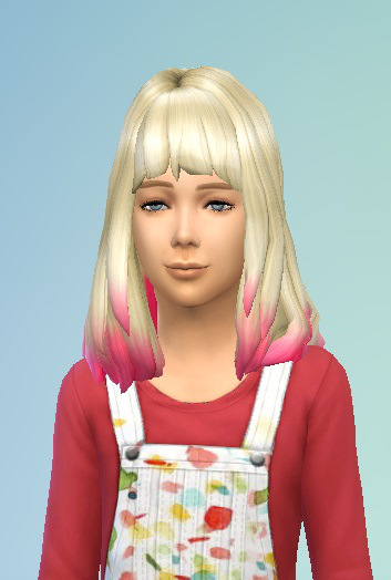 Birksches sims blog: DC shorter Hair for Girls for Sims 4
