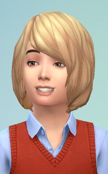 Birksches sims blog: Bob hair for boys for Sims 4