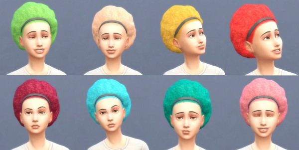 Mod The Sims: Get To Work Hairstyles in Hunings Pony Colors by lottidiezweite for Sims 4