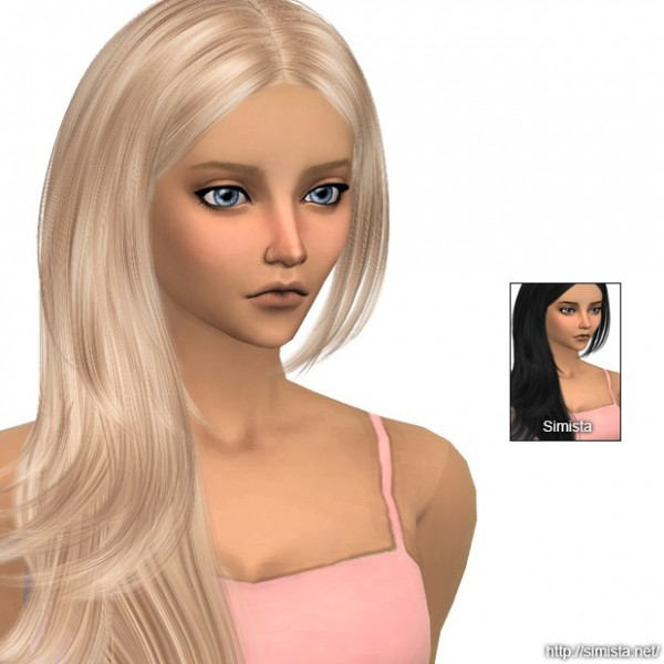 Simista: Cazy Rochelle Hair Retexture for Sims 4