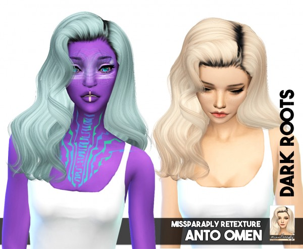 Miss Paraply: Hairs Retextured for Sims 4