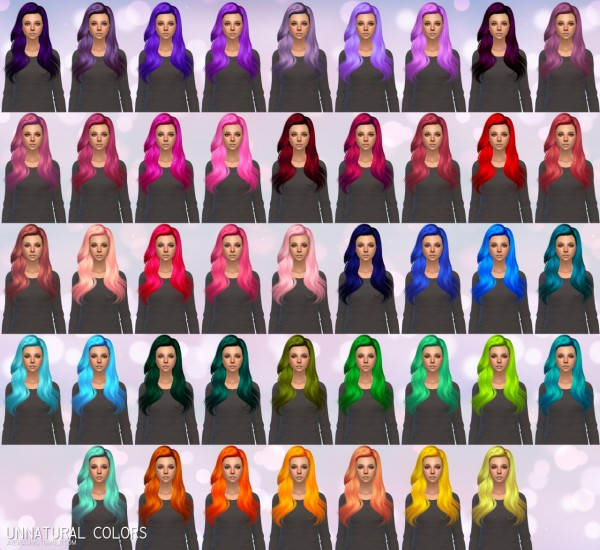 Aveira Sims 4: Butterflysims 144 hair retextured for Sims 4