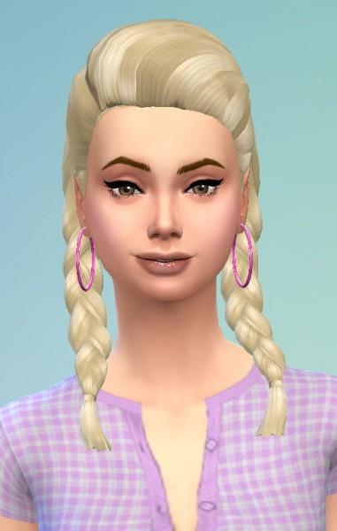 Birksches sims blog: Gretchen Hair for Sims 4