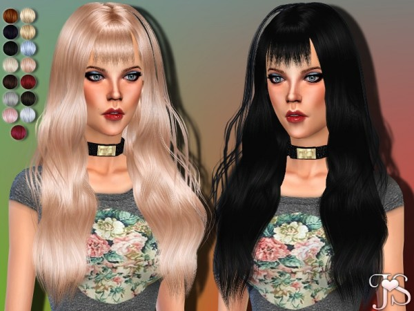 The Sims Resource: Gone Crazy Hairstyle by Java Sims for Sims 4