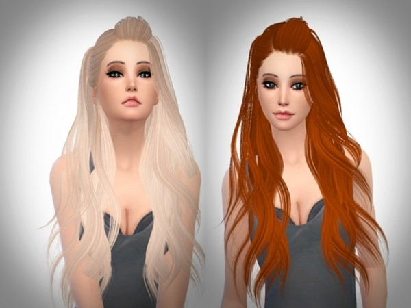 The Sims Resource: Skysims 262 hair retextured hair for Sims 4