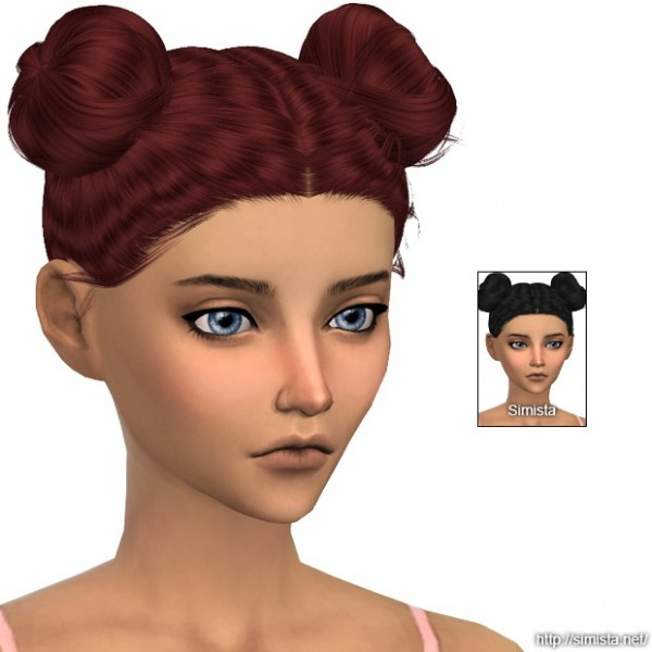 Simista: LeahLilith Blossom hair retextured for Sims 4