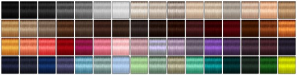 Miss Paraply: EA Twist hair retextured solids for Sims 4