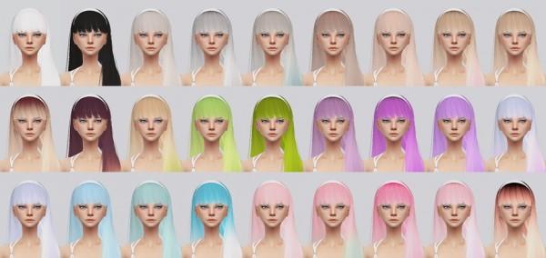 Kalewa a: Taylor hair retextured for Sims 4