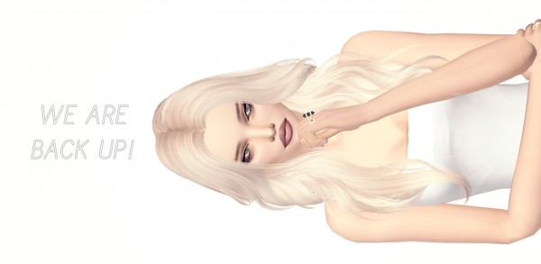 Miss Paraply: Long hair for Sims 4