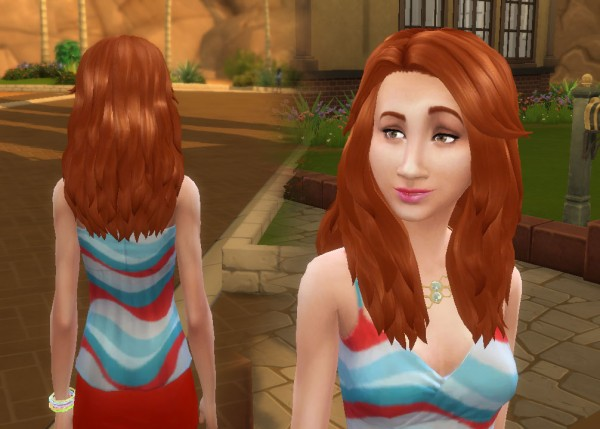 Mystufforigin: Renewal hair for Sims 4