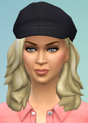 Birksches sims blog: Swinging Hair for her for Sims 4