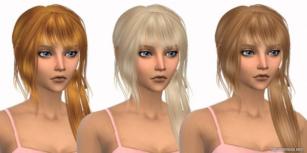 Simista: Anto`s Rocha hair retextured for Sims 4