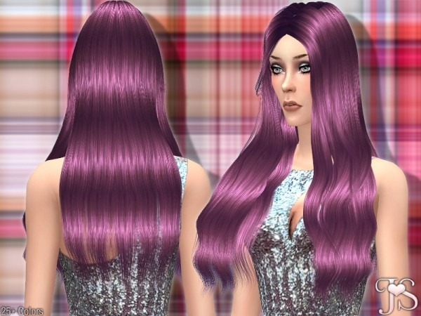 The Sims Resource: Goodbye Hair byJavaSims for Sims 4