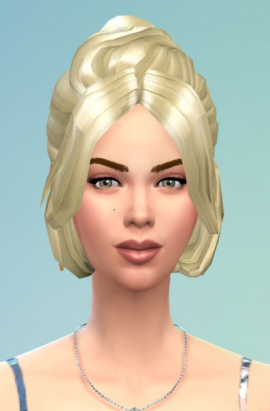 Birksches sims blog: Lara hair for her for Sims 4
