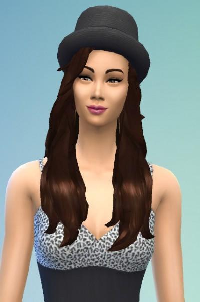 Birksches sims blog: Eva in Paradise Hair for Sims 4
