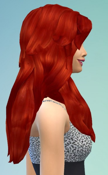 Birksches sims blog: Eva in Paradise Hair for Sims 4