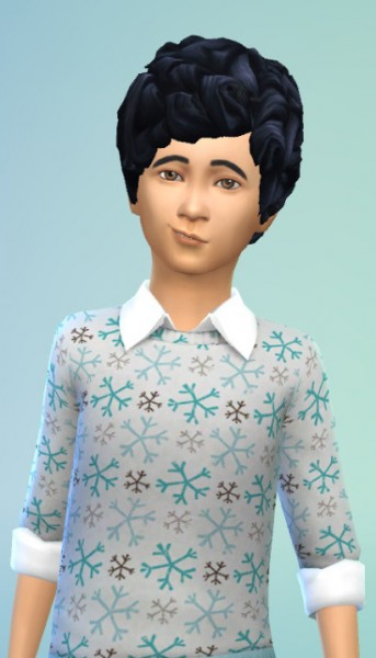 Birksches sims blog: My sweet child hair for Sims 4