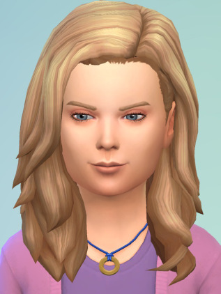 Birksches sims blog: Little Leonardo Hair for Sims 4